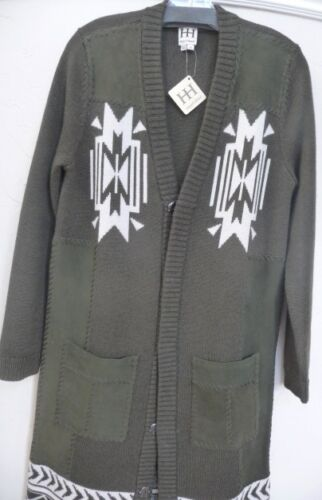 Military Hippie In Long Retail Nwt W Pockets suede Coat Jacquard 795 Haute 7qnwxgz1