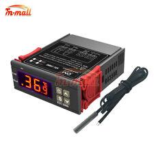 Ac110 220v Digital Temperature Controller Stc 1000 Thermostat Ntc Probe Sensor
