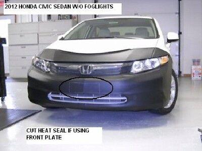 Lebra Front End Mask Cover Bra Fits 2009-2011 HONDA CIVIC SEDAN /& Hybrid