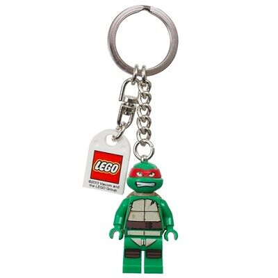 Lego TMNT Minifigure Keychain Leonardo Raphael Donatello Michaelangelo Splinter