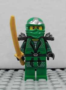 LEGO-Ninjago-Lloyd-ZX-gruner-Ninja-grun-green-Samurai-Figur-Minifig-9450