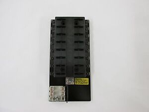 NEW-Bussmann-15600-16-21-16-Position-ATC-Fuse-Panel-Block-RV-Trailer-Boat-Solar
