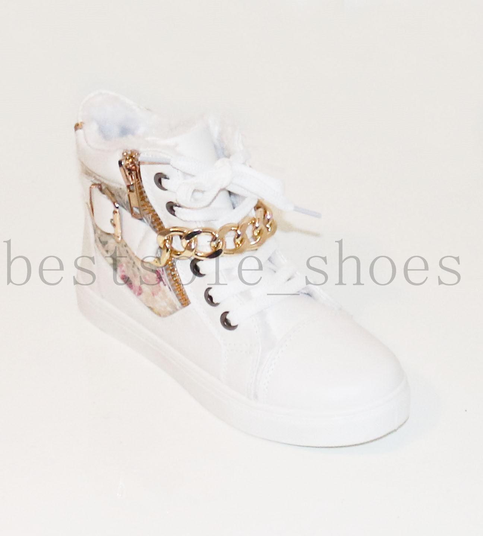 Femme fourrure linned baskets chaîne chaîne chaîne haute haut cheville bottes à lacets chaussures taille 56ed0d
