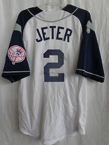 newest 023f5 06576 Details about Derek Jeter New York Yankees Alternate Majestic Jersey $30  Off SRP NWT #A6774
