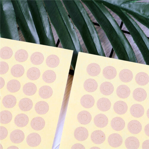 140X Kraft Ring Stickers Hole Paper Sticker Paper Label Gift Seal StickeBCDE