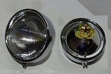 Zündapp R 50 GTS C 50 517 Lámpara 510-16.730 Juego faros con Montura