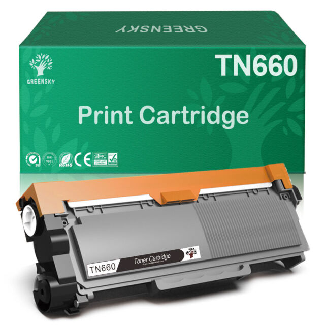 10 PK TN660 Toner For Brother MFC-7380 DCP-7180 DCP-7080D MFC-7480 MFC-7880DN