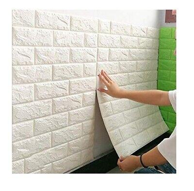 Set 5 pannelli muro 3d adesivo parete piastrelle for Mattonelle da muro