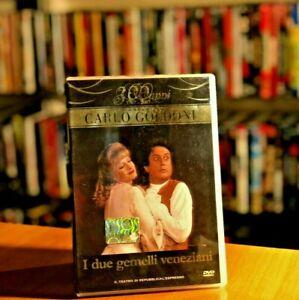 I due gemelli veneziani - GOLDONI Ediz. TV del 1978 DVD COME NUOVO