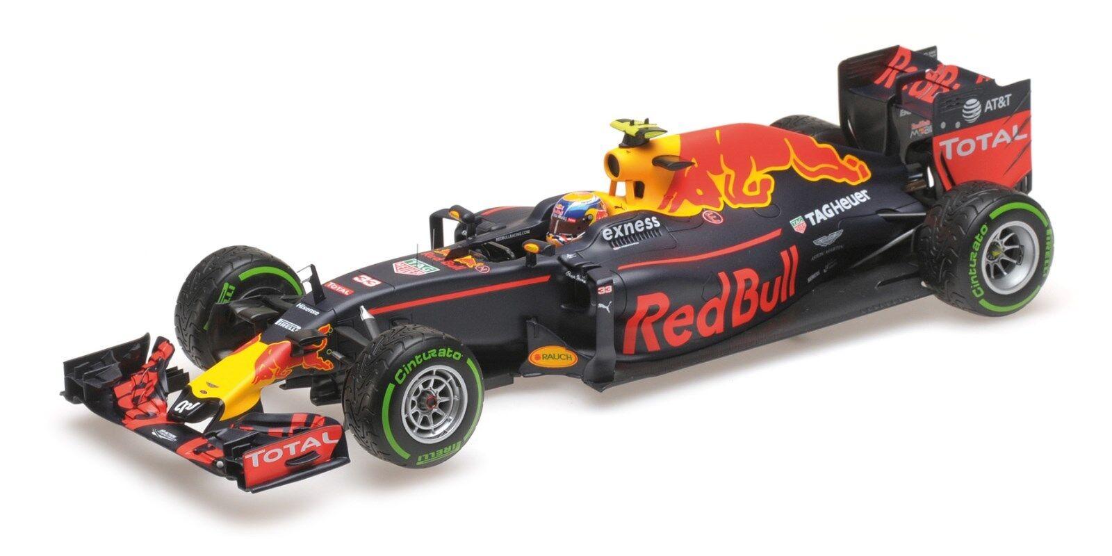 rouge Bull rb12 Verstappen 3rd Place Brazilian GP 2016 L. E. 750 117161233 1 18 new
