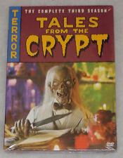 Tales From The Crypt Season 3 Three DVD Box Set NEW & SEALED