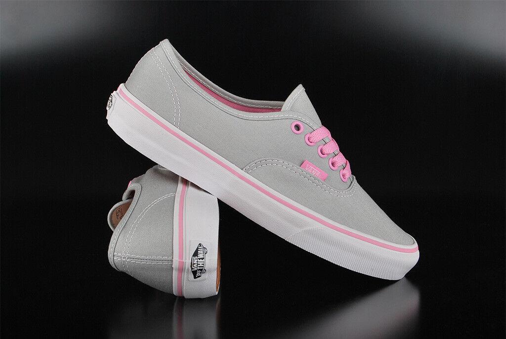 Vans authentic pop high rise Prism rosado cortos cortos cortos zapatos  calidad auténtica