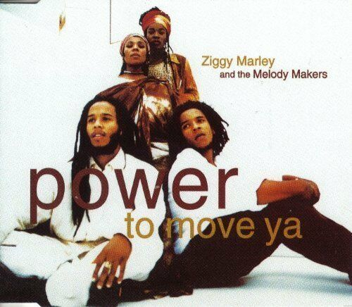 Ziggy Marley & The Melody Makers Power to move ya (1995) [Maxi-CD]