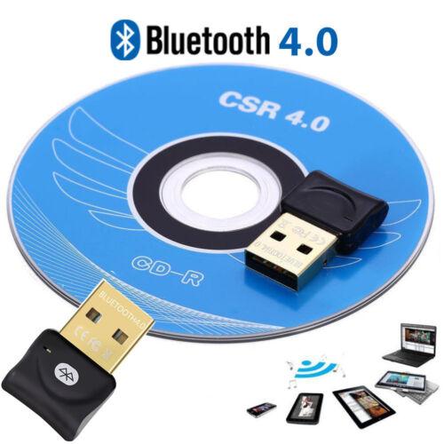 Mini Audio CSR USB Bluetooth Adapter Dongle Transmitter for Laptop XP//Win7//8//10