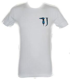 T-shirt-maglietta-uomo-TRUSSARDI-JEANS-art-TR0017-taglia-M-colore-010-BIANCO