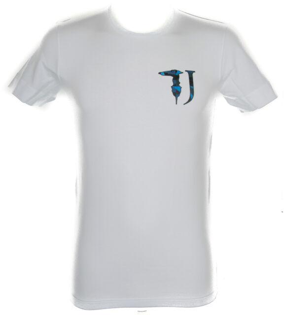 60488b73dc T-shirt Maglietta Uomo Trussardi Jeans Art.tr0017 Taglia XXL colore 010  Bianco