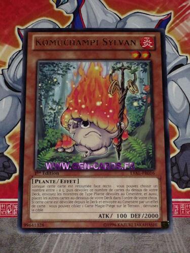 Carte YU GI OH KOMUCHAMPI SYLVAN LVAL-FR016