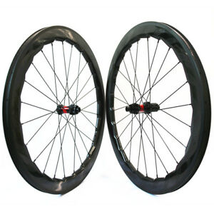 65bc62f28 NSW 454 Wheelset 700C Carbon Road Bike wheels DT SWISS 240S 58mm ...