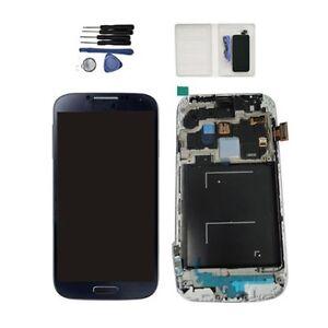 Para-Samsung-Galaxy-S4-i9505-Azul-Pantalla-digitalizador-LCD-Display