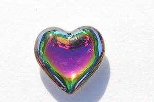 Huge-45mm-Heart-Silver-Vitrial-Crafts-Beads-Jewelry-Making-Pendants