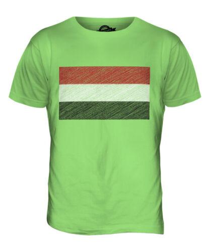 YEMEN SCRIBBLE FLAG MENS T-SHIRT TEE TOP GIFTAL-YAMAN YEMENI