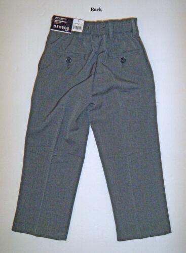 BLACK NWT SIZE 4 ONLY GRAY GEORGE – BOY'S DRESS PANTS SLACKS NAVY