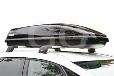 Thule Ocean 600 Car Roof Top Box 330 Litre Gloss Black Half Width