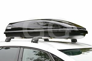 thule ocean 600 car roof top box 330 litre gloss black. Black Bedroom Furniture Sets. Home Design Ideas