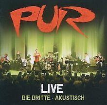 Live-die-Dritte-Akustisch-von-Pur-CD-Zustand-gut