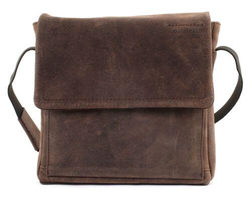 strellson Turnpike ShoulderBag SVF Umhängetasche Tasche Dark Brown Braun Neu