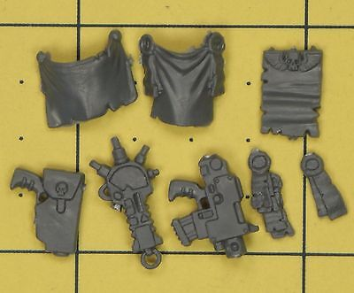 Salamandres Accessoires Primaris Upgrade Carotte Warhammer 40K Bits Space Marines