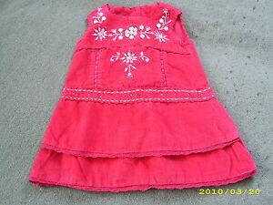 MONSOON-edles-Velours-Kleid-festlich-auch-als-Winterkleid-6-12-M-Gr-68-74