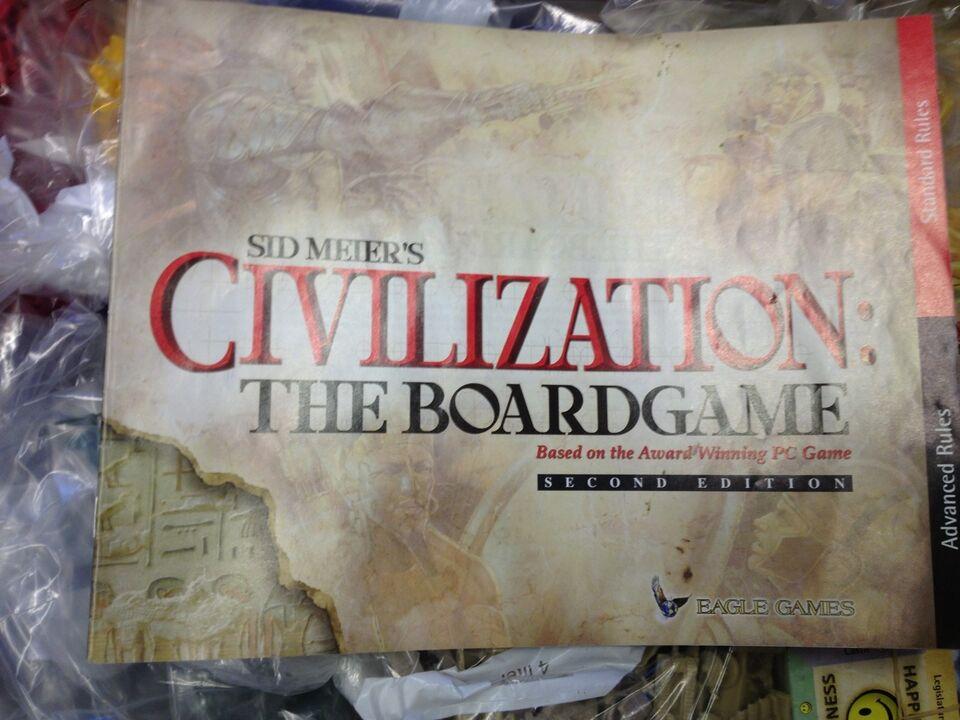 Civilization, Strategi spil, brætspil