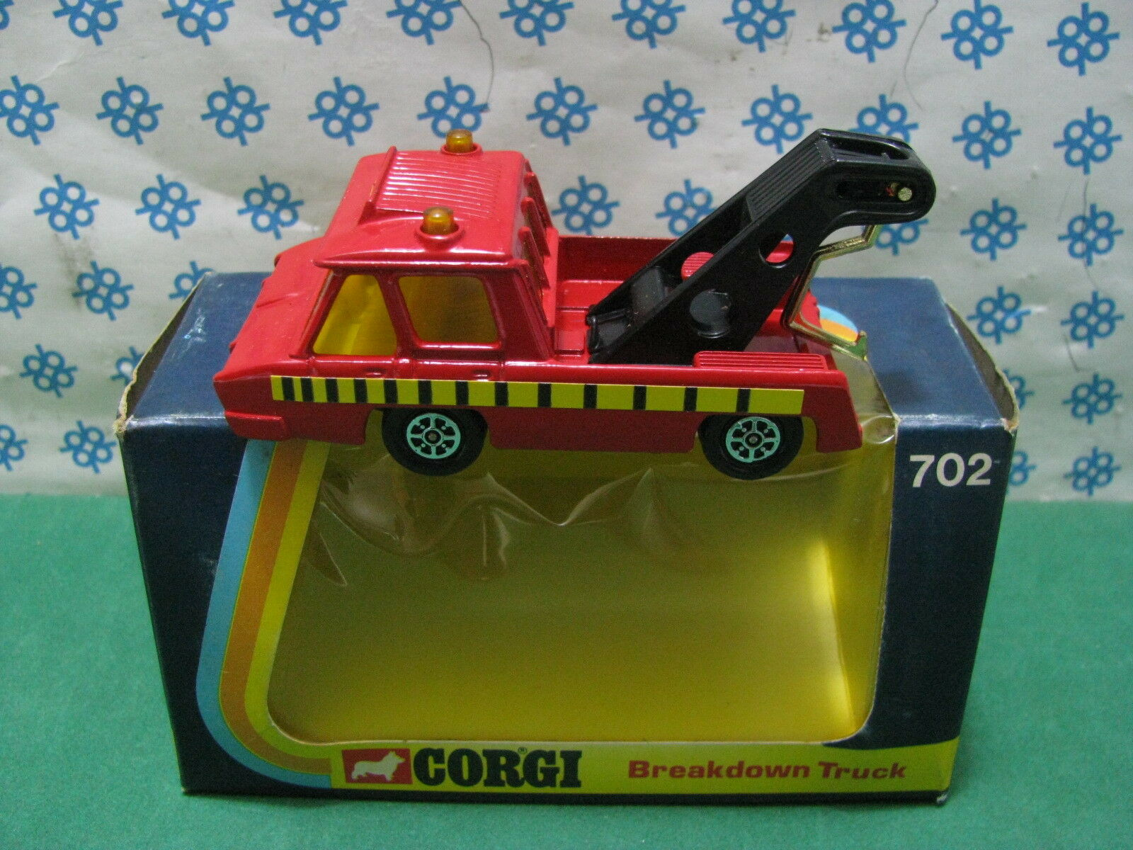 Vintage corgi Juguetes 702-breakdown Truck-made en gt. Britain 1974