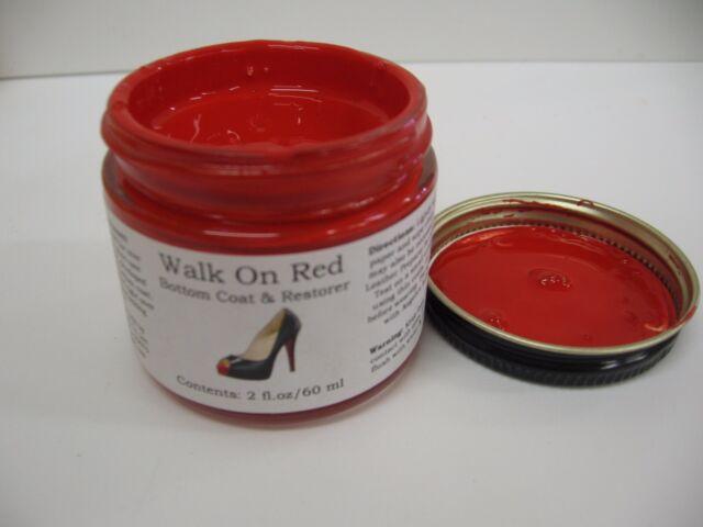 Angelus Brand Walk On Red 2 Oz Shoe Sole Paint Diy Louboutin Soles