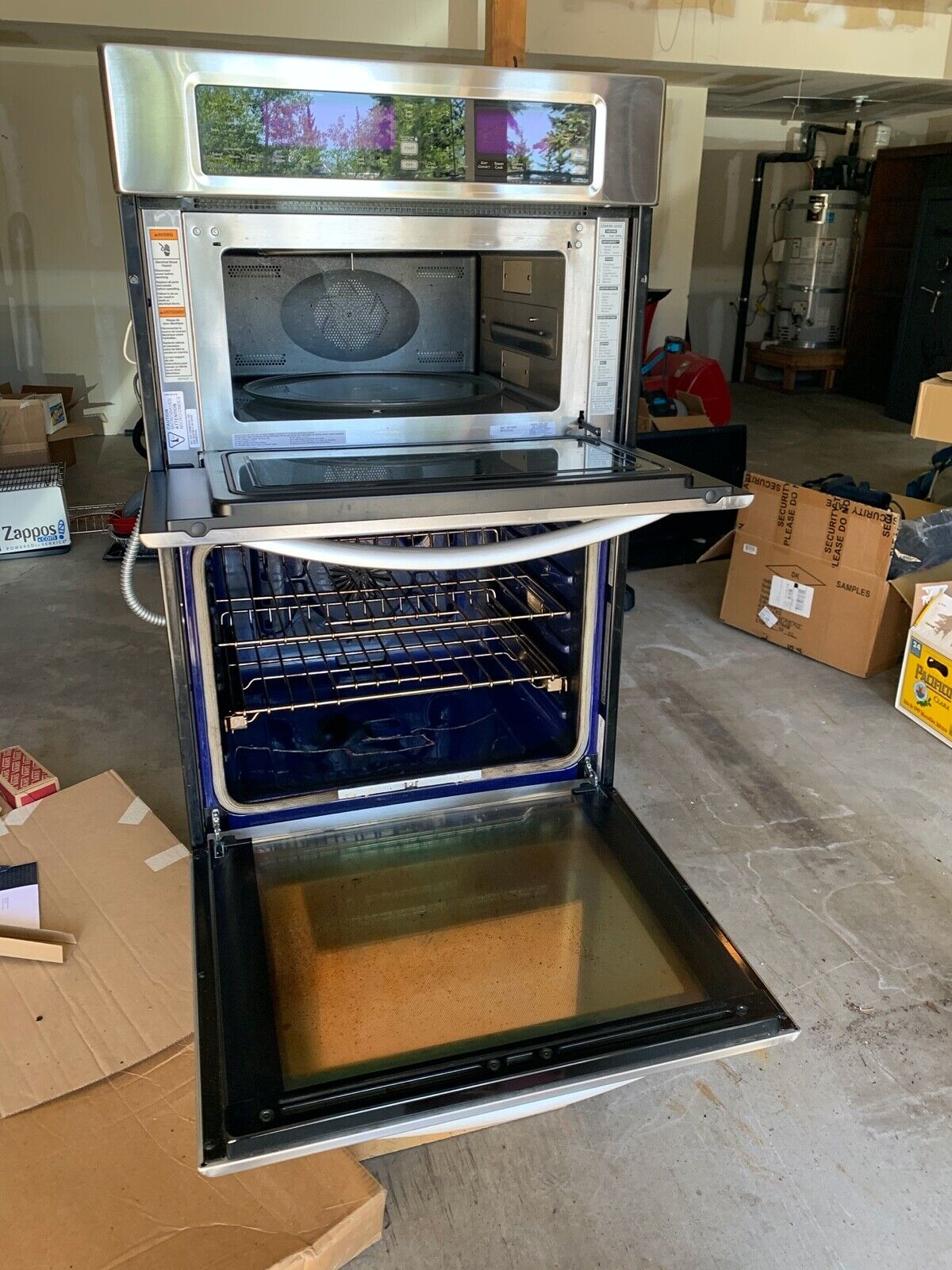 Kitchenaid Architect Series Ii 30 5cf Double Wall Oven Kebk206bss For Sale Online Ebay