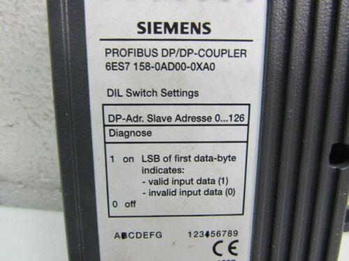 Siemens Profibus DP//DP Coupler 6ES7 158-0AD00-0XA0 6ES7158-0AD00-0XA0 TopZustand