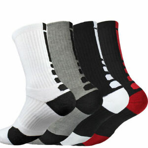 5-Pairs-Men-039-s-Sport-Socks-Crew-Skating-Basketball-Ankle-Casual-Socks-Mixed-Color