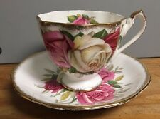 Vintage Queen Anne Cup & Saucer Set -- Lady Sylvia