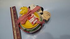 Hallmark Peanuts Nested Measuring Cups Snoopy Charlie Brown Lucy 2011 Set New!