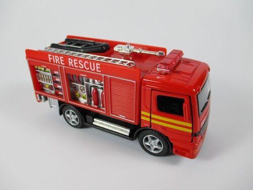 Pompiers camion Fire Department 12 CM maquette de voiture miniature métal