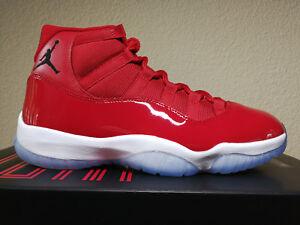 best sneakers 92580 4d1bd Image is loading Nike-Air-Jordan-11-Win-Like-96-XI-