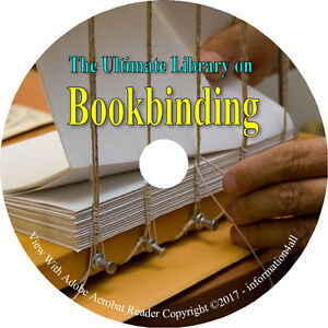 Bookbinding-Binding-How-to-Make-Book-Making-Cover-Repair-Craft-65-Books-on-DVD