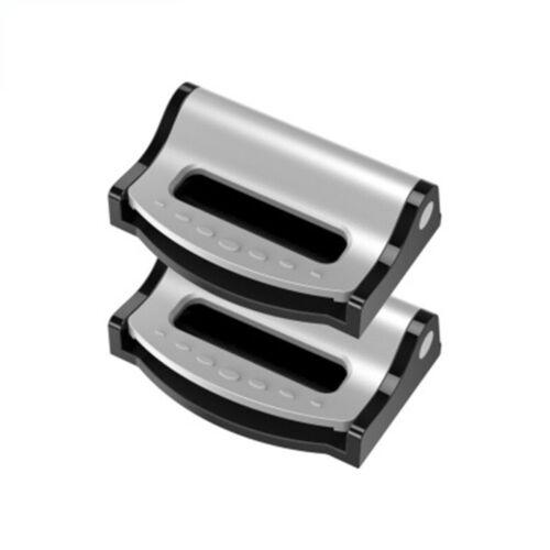 2 Car Seat Belt Stopper Clip Locking Shoulder Strap Adjuster Fixture Safety cgh