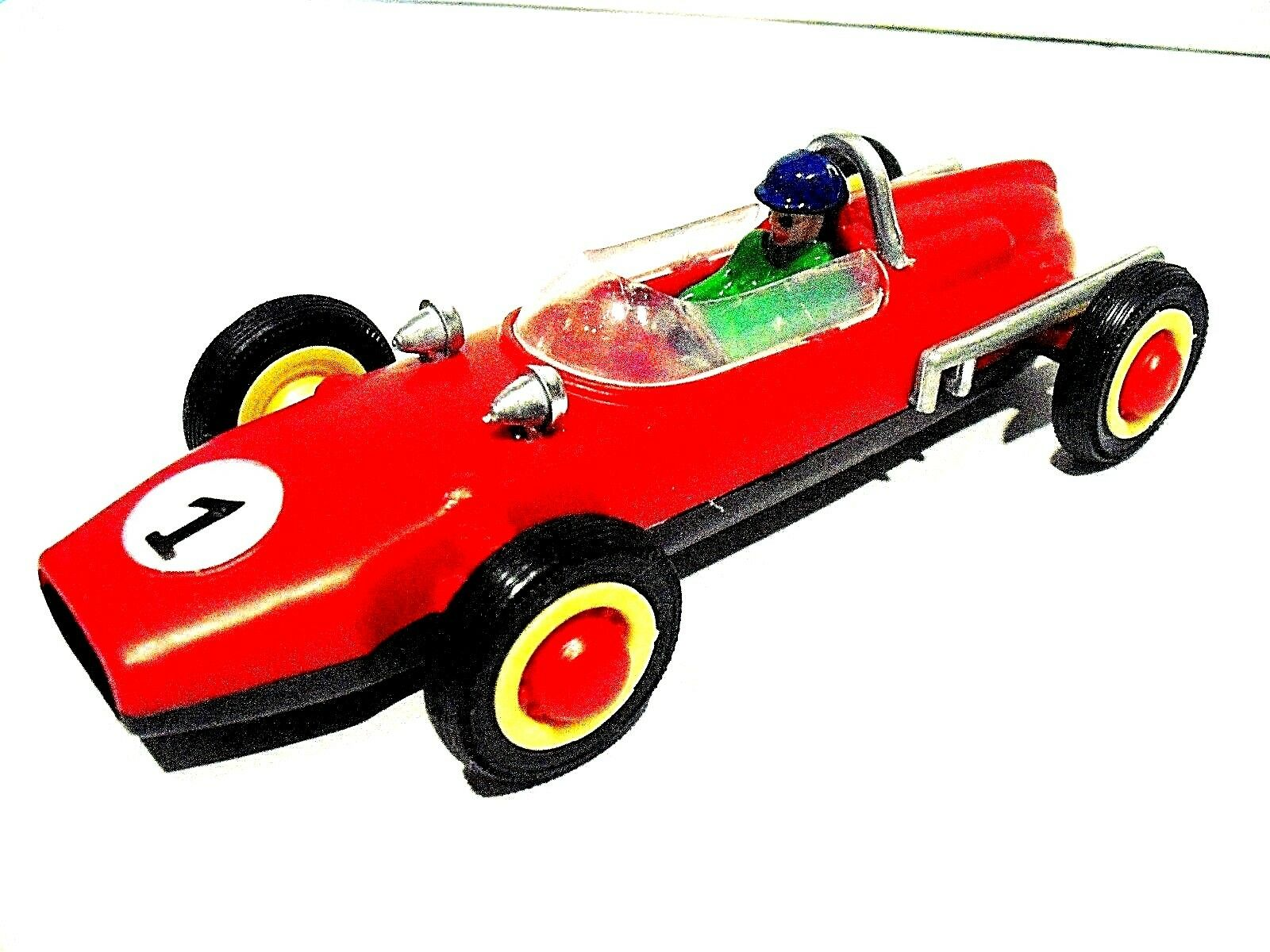 4 Vintage racing car COOPER - made in  PORTUGAL in the 1970's