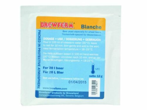 BREWFERM BLANCHE Beer Yeast dry fermented for Beer DIY Brewing Dry Yeast