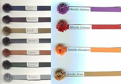 Gold 1//8-Inch 50 Per Package Quilled Creations Metallic Quilling Paper