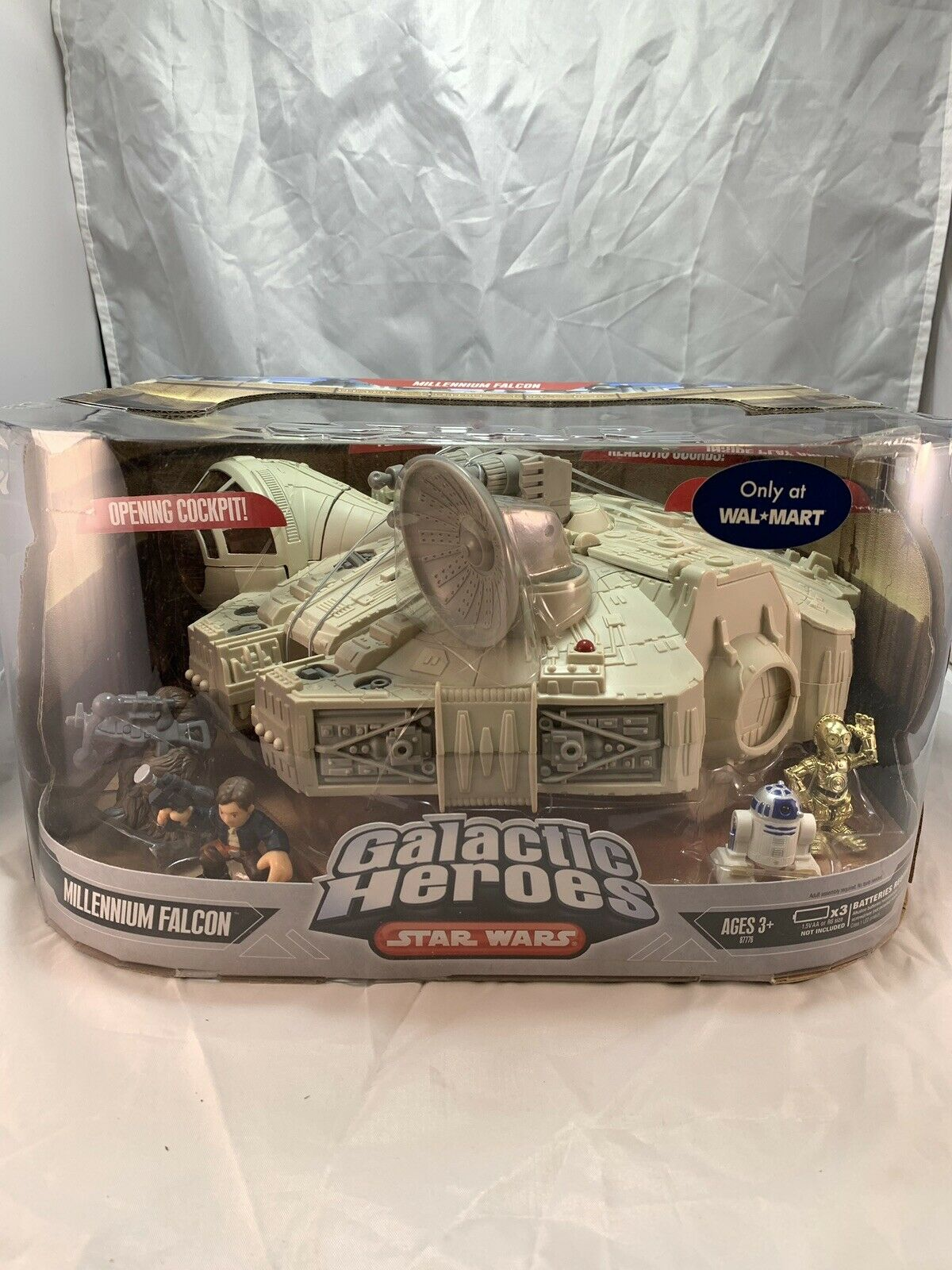 Star Wars Galactic Heroes Millennium Falcon Walmart Exclusive