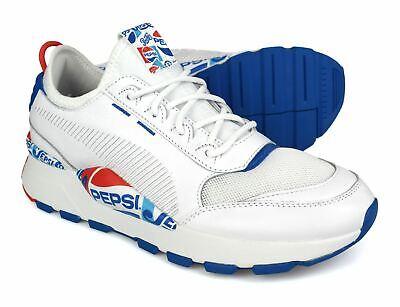 Puma RS-0 X Pepsi White Mens Trainers