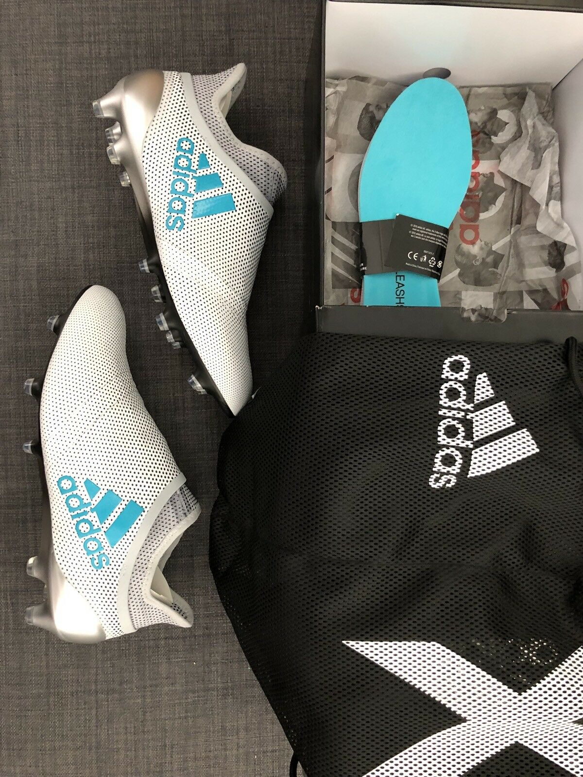 Adidas x 17 + purespeed fg s82444 messi da nemeziz predatore gli scarpini da messi calcio sz - 8 055a17